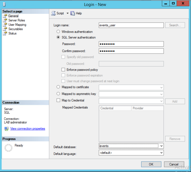 creating_events_database_loginuser2